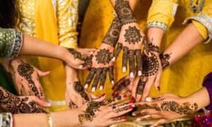 mehndi designs for wedding day