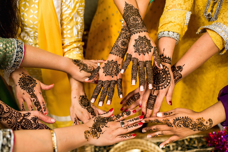 mehndi designs for wedding day