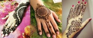 Floral Mehndi Patterns