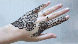 Jali Patterns mehndi design