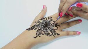 Mandala Motif mehndi design