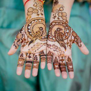 The Tota Maina mehndi Designs