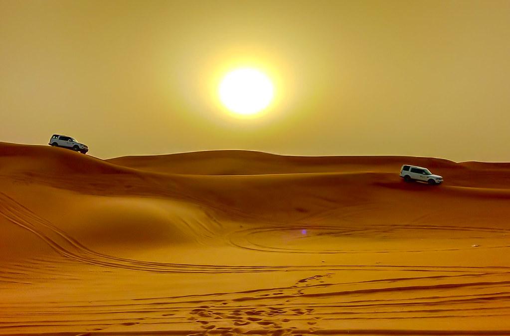Phenomenal Desert in Abu Dhabi
