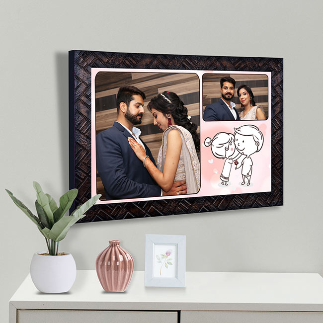 A Couple's Picture Frame
