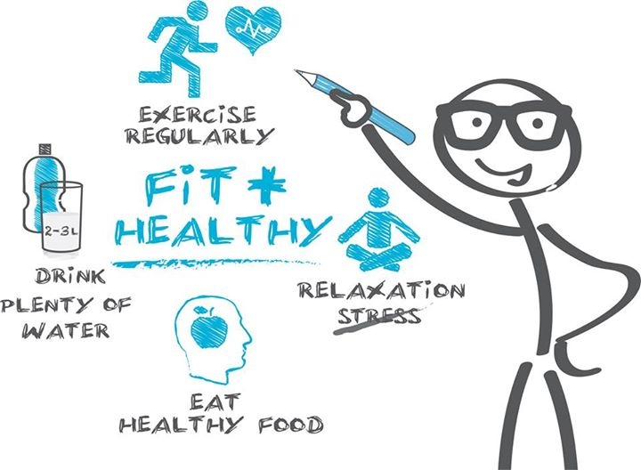 Staying fit and healthy